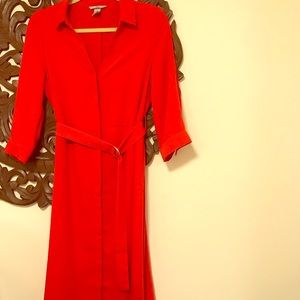 H&M red dress size 6